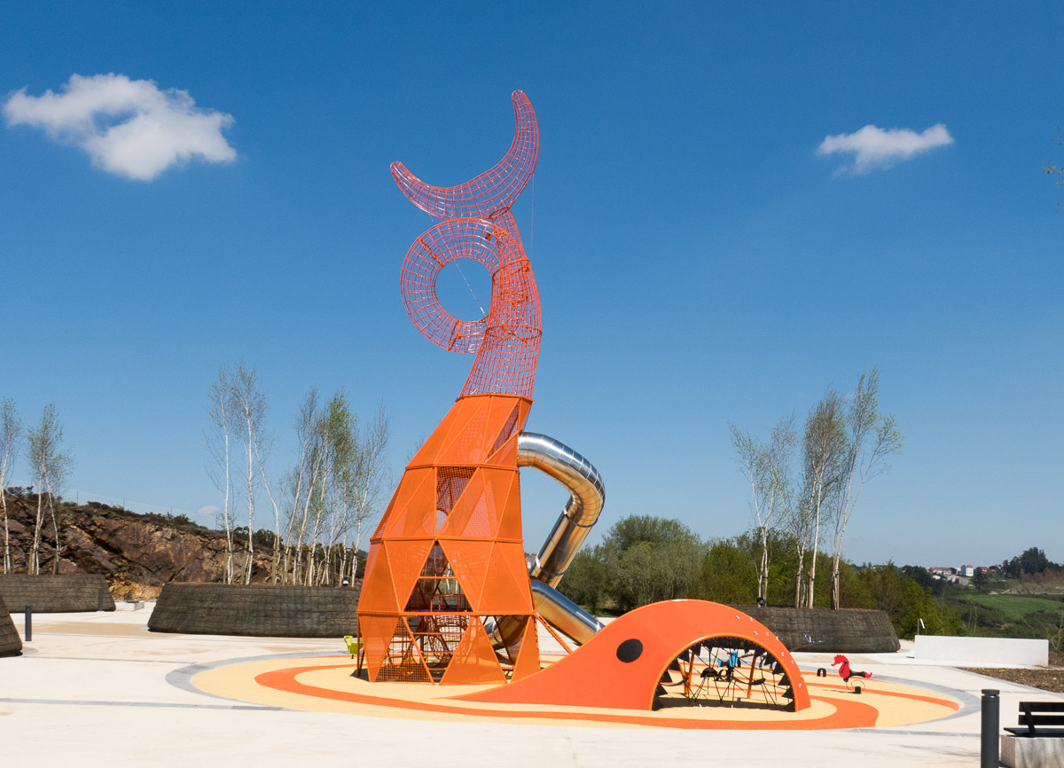 Parque da Balea y entorno   Cidade da Cultura