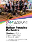 Concerto Balkan Paradise Orchestra no Gaiás