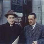 Con Marcel Duchamp