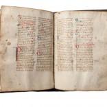 Breviario Auriense, s.XV | Tinta sobre pergameo |25,0 x 19,0 cm