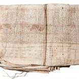 Libro X de Pergameos Reais, s.X-XV | Tinta sobre pergameo | 61 x 56 x 6,5 cm