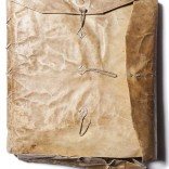 Libro XI de Bulas Papais, s.XII-XV | Tinta sobre pergameo | 61 x 56 x 6,5 cm