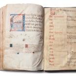 Pasionario Tudense, s.XIII | Tinta sobre pergamino | 45,7 x 29,5 cm