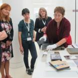Co material especial da Biblioteca de Galicia
