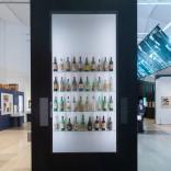 Colección de botellas de Cela