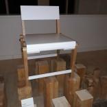Cadeira plegable. Nicolás Nieto Cores. EASD Mestre Mateo.