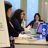 Equipo de Acción Contra el Hambre no Centro de Emprendemento do Gaiás (Foto: María Belén Gómez Rosbier)