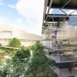 Recreación do futuro Edificio Fontán