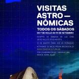 Cartaz Visitas Astronómicas