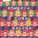 Cartel da XV Romaría Coral Galega