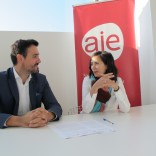 Sinatura convenio Fundación Cidade da Cultura - AJE Galicia