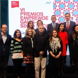 Foto de familia vencedores VI Premios Emprende Gaiás Sixto Seco (Foto: Manuel G. Vicente)