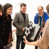 Visita del conselleiro de Cultura al festival Pequefilmes (Foto: Manuel G. Vicente)