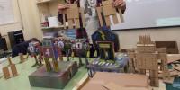 Obradoiro de robots de cartón