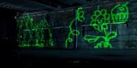 Obradoiro de láser grafiti