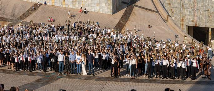 IV Festival de Bandas Infantís e Xuvenís de Galicia (Foto: Manuel G. Vicente)