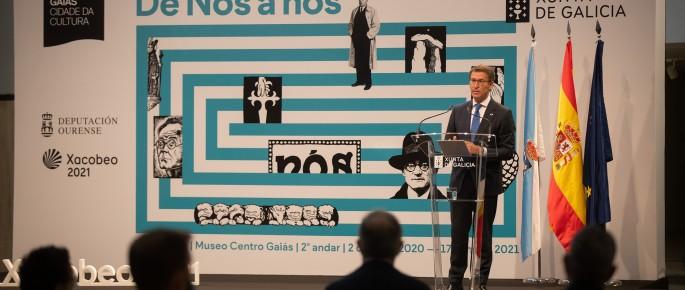 Inauguración da exposición 'Galicia, de Nós a nós' (Óscar Corral)