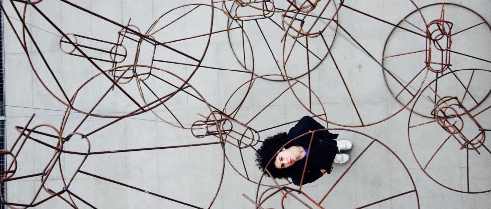 Intervención artística de Sonia Navarro